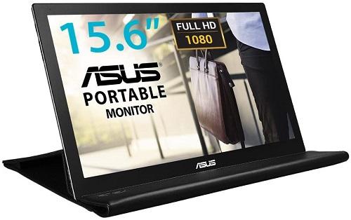 ASUSのモバイルモニターMB169B+