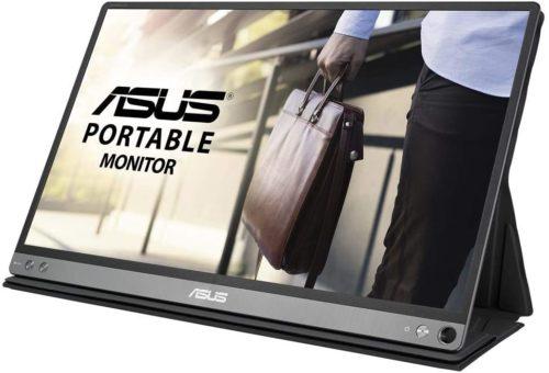 ASUSのモバイルモニターMB16AP
