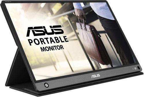 ASUSのモバイルモニターMB16AHP