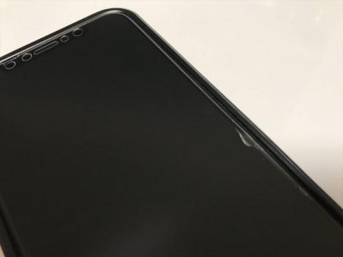 マット仕上げのiPhoneガラスフィルム