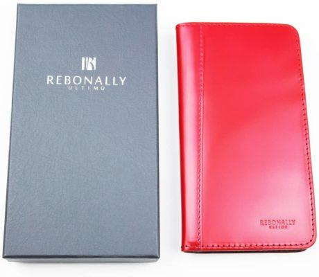 ULTIMO REBONALLYの本革手帳型ケース