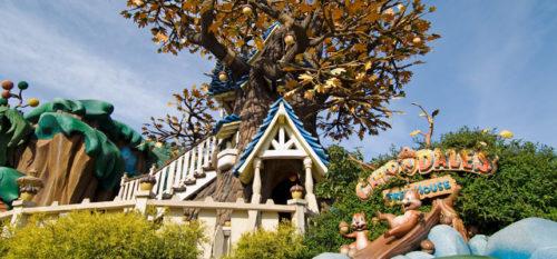 チップとデールのツリーハウス