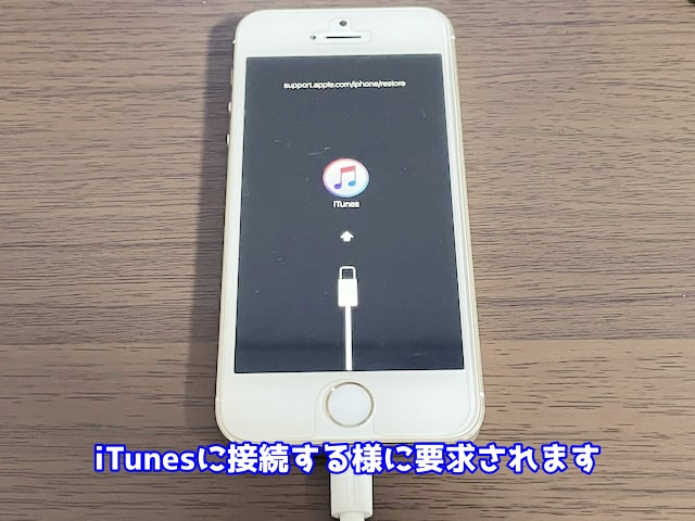 iTunesに接続する