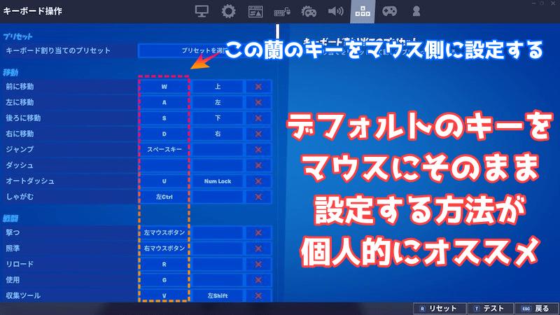 フォートナイト(PS4)でG300Srの設定方法
